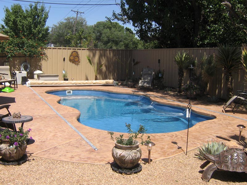 Clearwater Pools Custom Pool Features Inground Pool