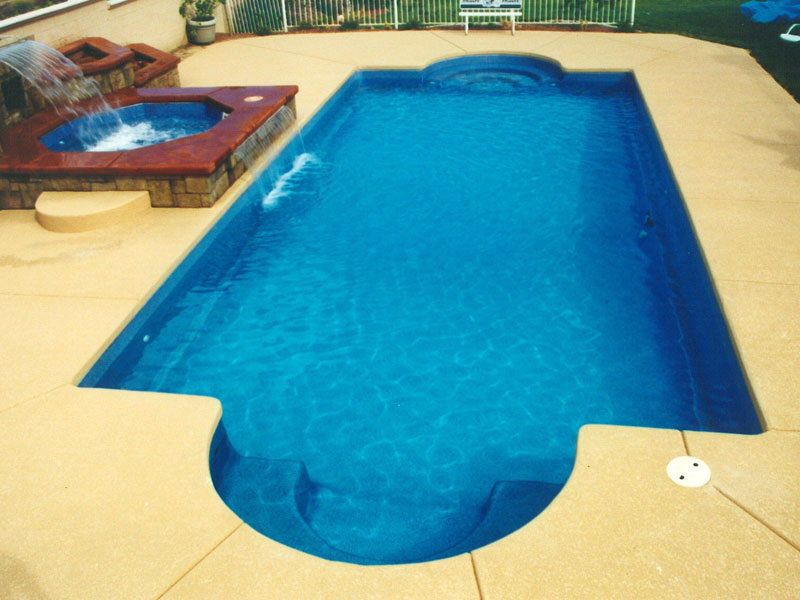 Clearwater Pools Classic Shaped Pools Inground Pool Builder - Fiberglass-swimming-pool-designs