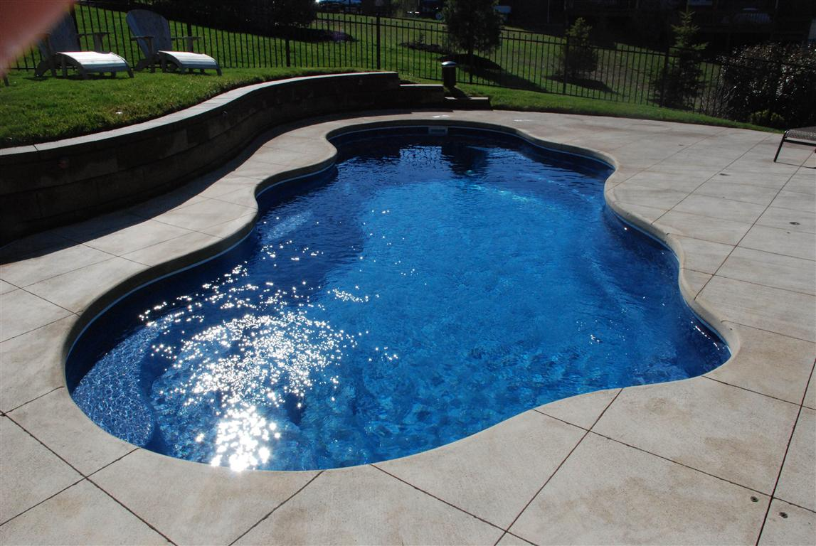 Clearwater pools freeform shaped pools inground pool for Pool design louisville ky