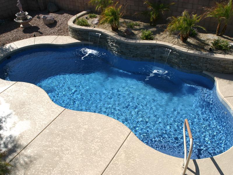 Clearwater Pools Freeform Shaped Pools Inground Pool