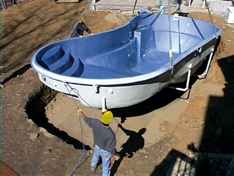 Clearwater pools pool installation inground pool for Pool installation