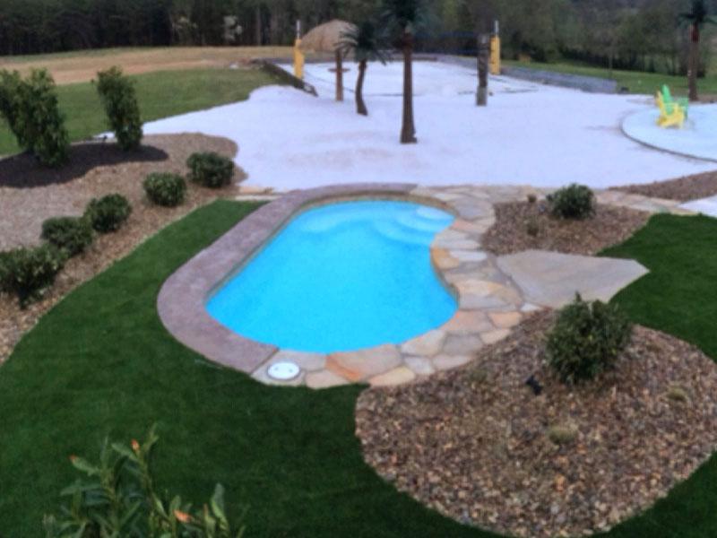 Clearwater Pools Kidney Shaped Pools Inground Pool Builder