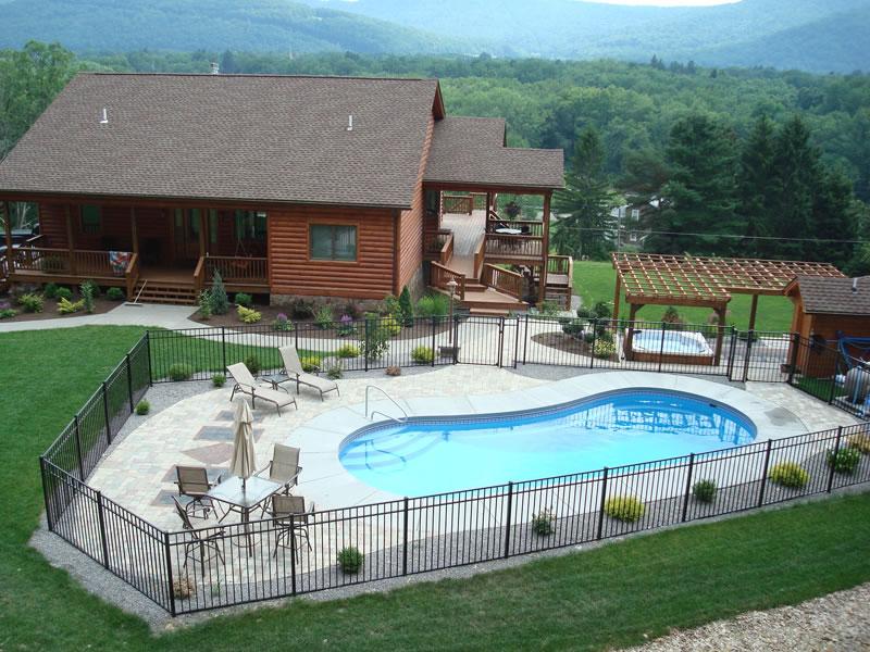 Clearwater Pools | Kidney Shaped Pools, Inground Pool Builder ...