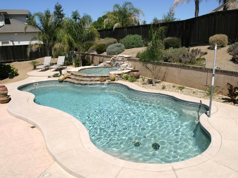 Clearwater pools custom pool features inground pool for Pool design louisville ky