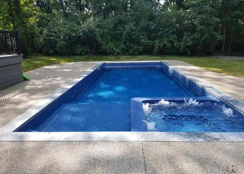 Rectangle Shaped Pools Inground Pool, Above Ground Pools Louisville Ky