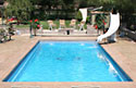 Rectangle fiberglass pools